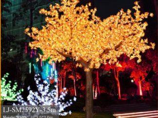 LED Trees Wood Effect Trunk